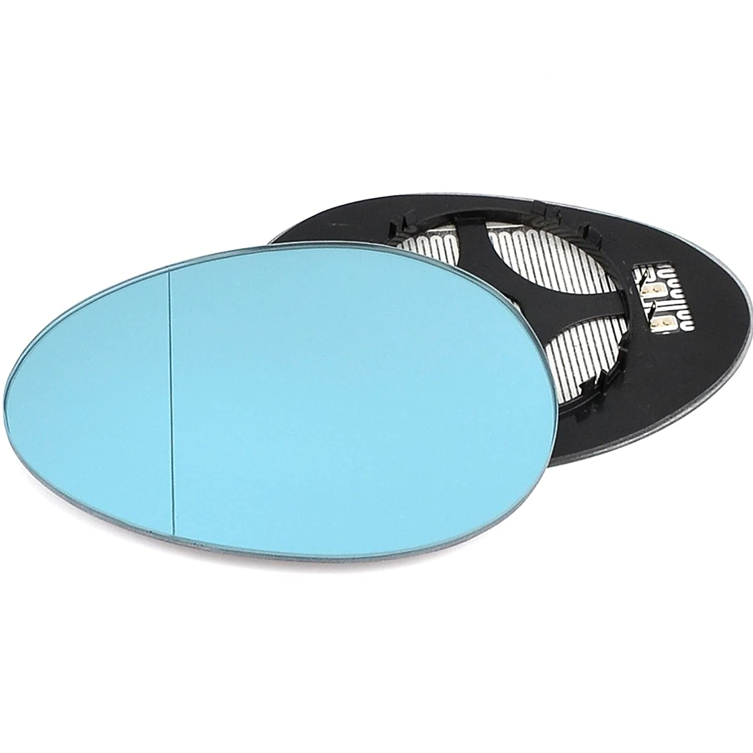 For Citroen C1 2005-2013 Driver right hand side wing door mirror convex glass with backing plate