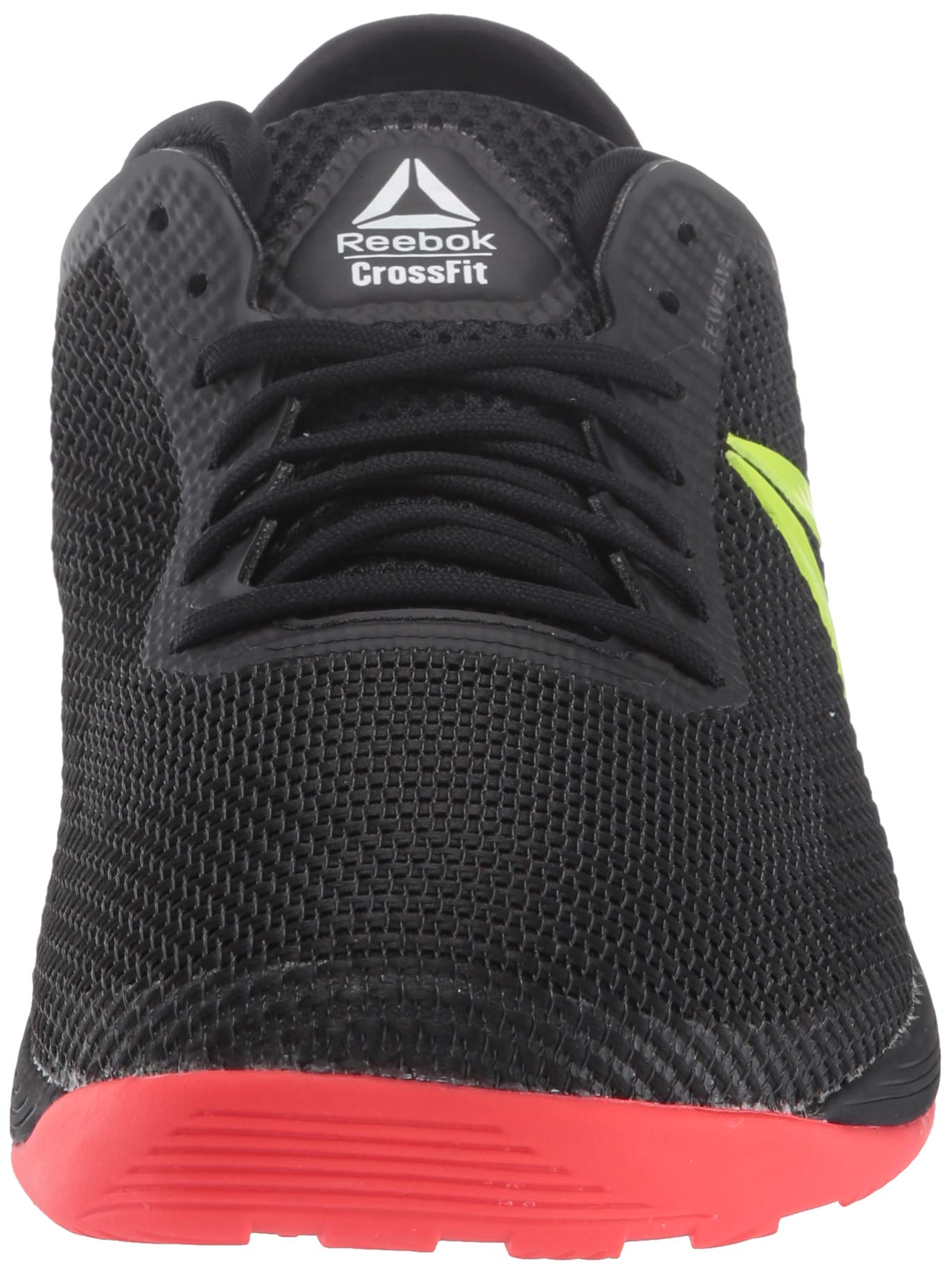 Reebok Men's CROSSFIT Nano 8.0 Flexweave Cross Trainer, Black/Neon Red/Neon Lime/White, 6.5 M US by Reebok (Image #4)