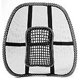 Sistema de soporte para la espalda para silla (negro).