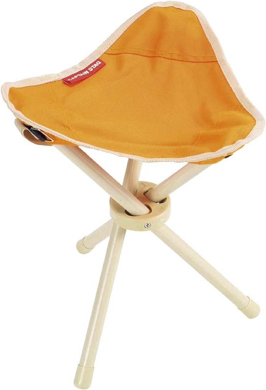 Captain Stagg Petit tripod chair mini orange M-3900 CAPTAIN STAG
