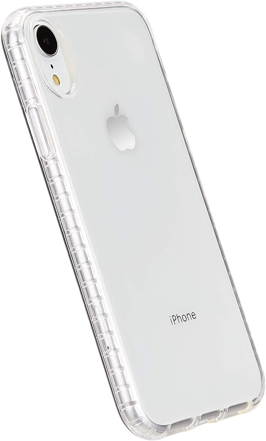 AmazonBasics iPhone XR Clear Case - Crystal Mobile Phone Case (Protective & Anti Scratch)