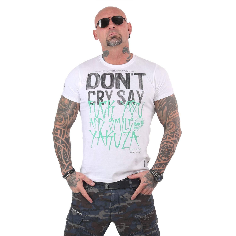 0c9f7d8db9 Yakuza Herren Smile Smile Smile T-Shirt B07P1BRVV5 T-Shirts Guter  weltweiter Ruf 59e828