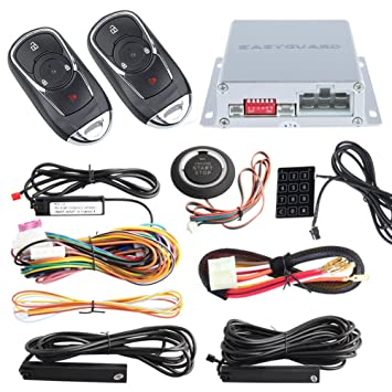 EasyGuard ec002-bu Intelligente RFID PKE Auto: Amazon.de: Elektronik