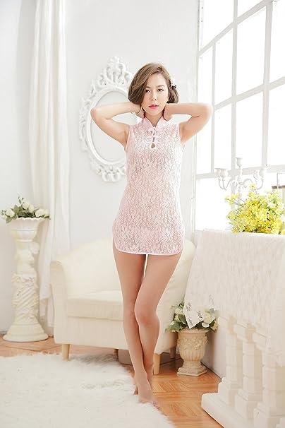 192b86f5ef5c SWEET HOME Mini abito rosa in design orientale