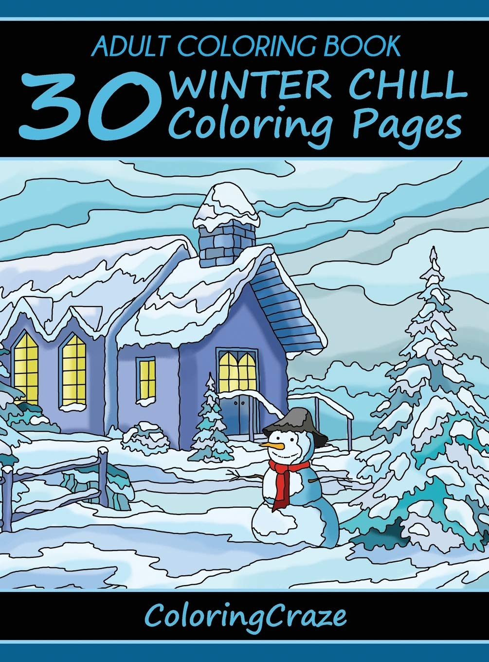 Obtain Awesome Coloring Pages Winter Selections