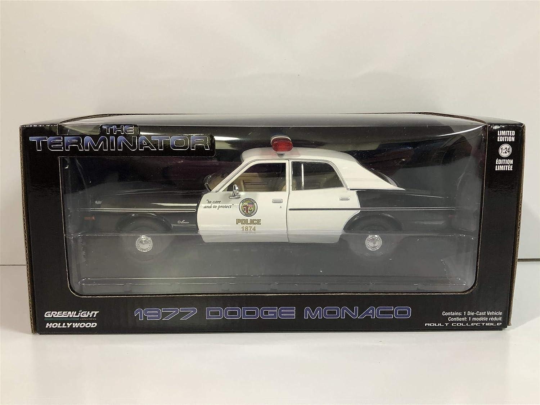 1984 Greenlight 84101 The Terminator 1977 Dodge Monaco Metrapolitan Police 1:24 Scale