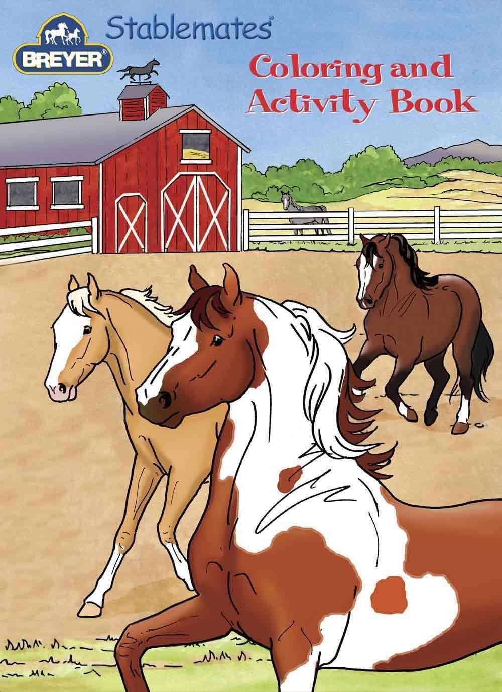 B00183S58W Breyer Stablemates Coloring & Activity Book 711gJADoceL
