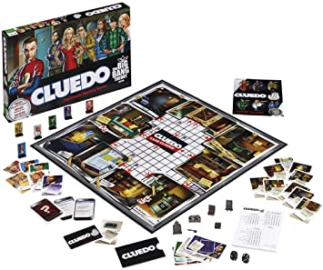 Big Bang Theory Cluedo Board Game: Amazon.es: Libros en idiomas ...