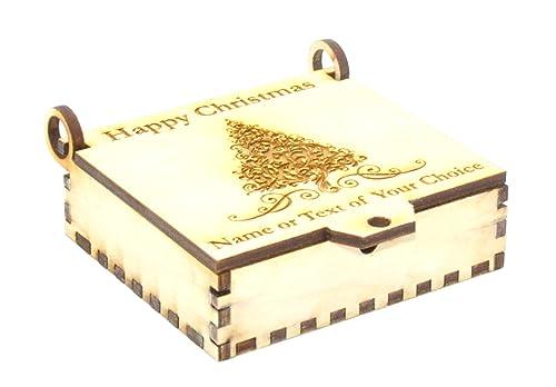 Personalizado artesanal caja de regalo