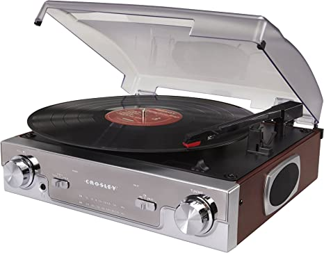 Review Crosley CR6005A-MA Tech Turntable