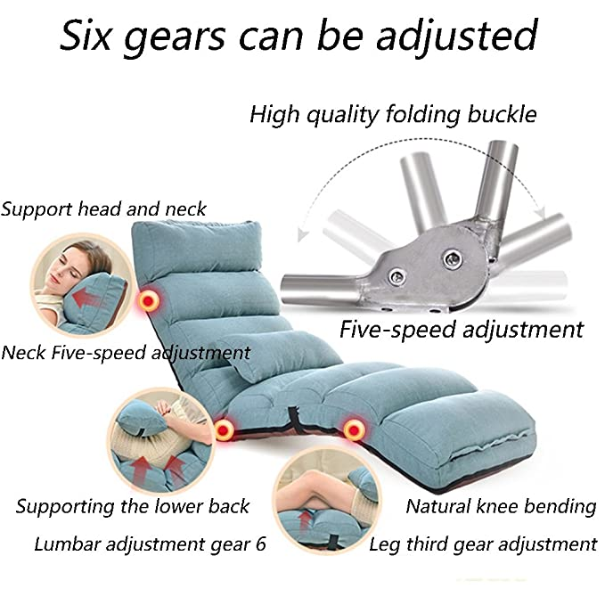 Amazon.com: Lazy Sofa Individual Collapsible Sofa Bed ...