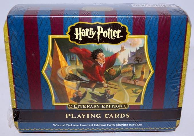 Amazon.com: 1 x Harry Potter: Juego De Cartas Juego de lata ...