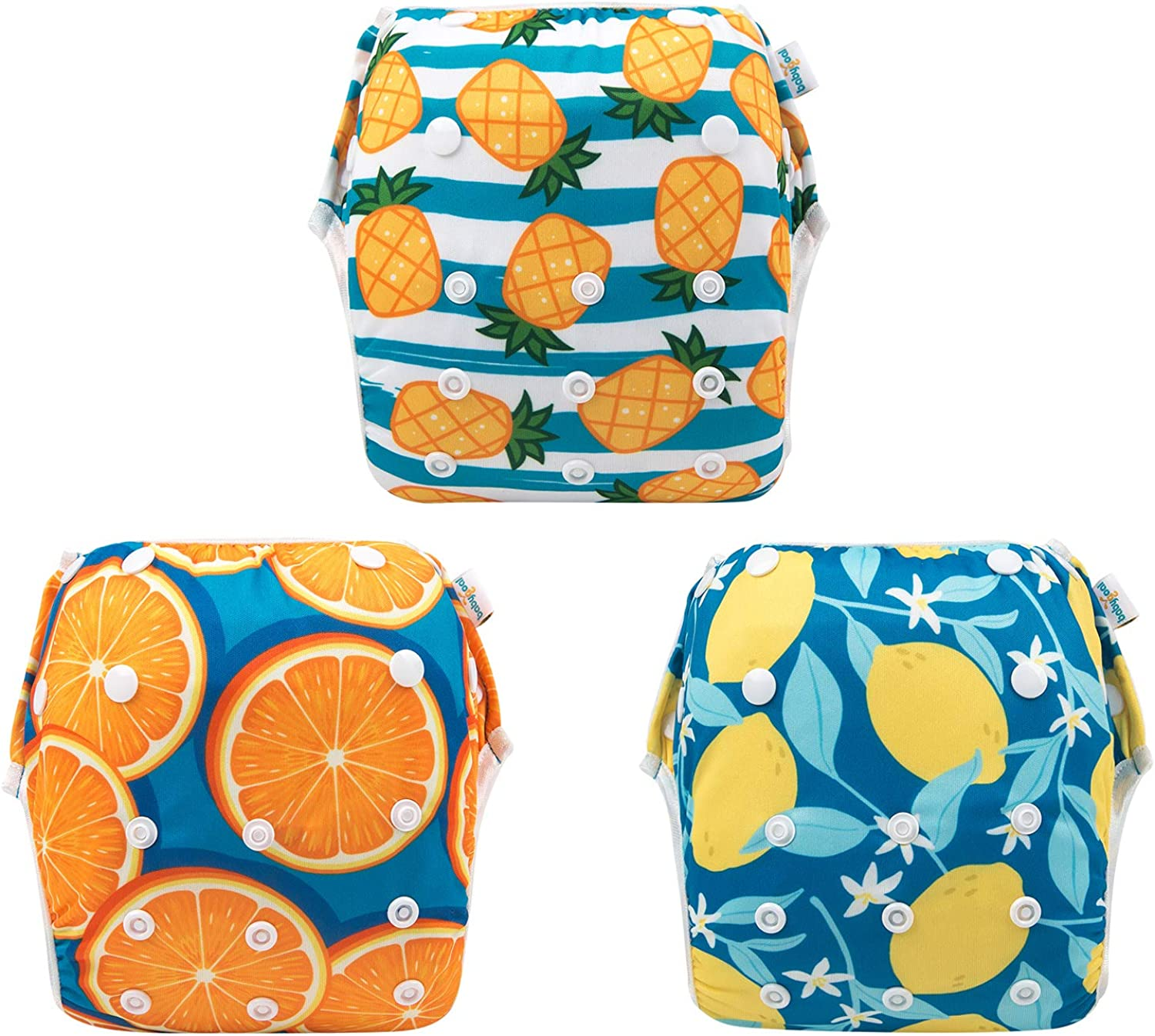 Swimming Lessons Washable and Adjustable for Babies 0-2 Years babygoal Baby Reusable Swim Diaper