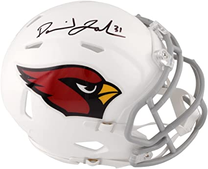 5fb294ac Amazon.com: David Johnson Arizona Cardinals Autographed Riddell ...