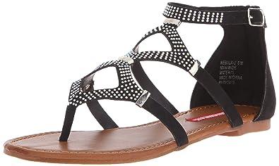 Womens Lara-u Dress Sandal, Grey, 6 M US Unionbay