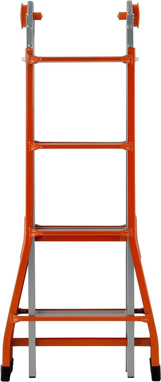 Gierre A0040 Escalera telescópica de Acero (4+4): Amazon.es: Bricolaje y herramientas