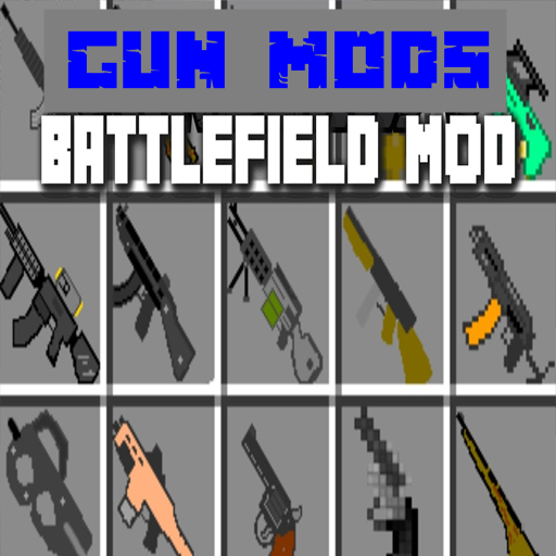 Gun Mods: Mod for MCPE Top Games