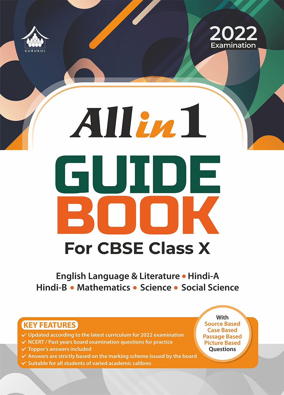All in 1 Guide Book: CBSE Class X for 2022 Examination Paperback – 15 April 2021