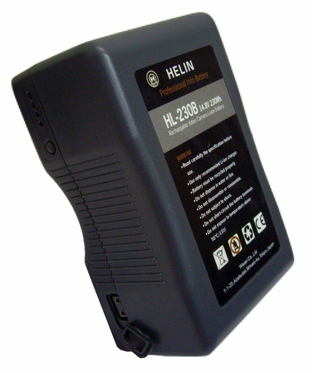 Helin V-マウントリチウムイオンバッテリー HL-230B B007K4ZU3G