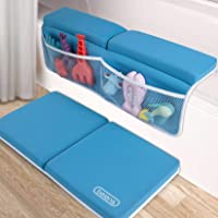 beiens Bath Kneeler with Elbow Rest Set, 1.5'' Thick Quickly Dry Kneeling Pad and Elbow Support for Knee & Arm Support…