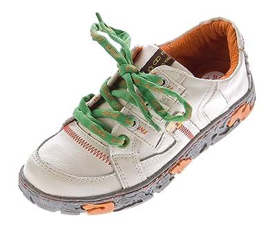 TMA Comfort Damen Leder Schuhe Schnürer 4181 Sneakers Weiß Turnschuhe  Halbschuhe Gr. 36 897b35c500