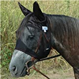 Cashel Quiet Ride Standard Horse Fly Mask With Ears - All Sizes
