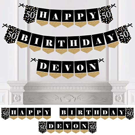 50th Birthday Banners Personalized Free Download Playapkco