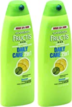Garnier Fructis Daily Care 2-in-1 Shampoo and Conditioner, Twin Pack 17.3