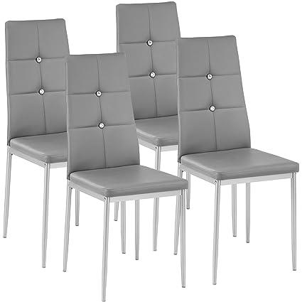 TecTake Set di sedie per sala da pranzo 40x42x97cm | - disponibile ...