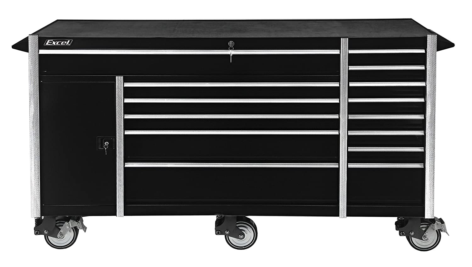 Amazon.com: Excel TB7207X Roller Cabinet with Fourteen Drawers, 72 ...