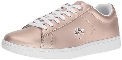 7e7a61656d2 Lacoste Carnaby (Women) Fashion Sneaker Pink 5 M US