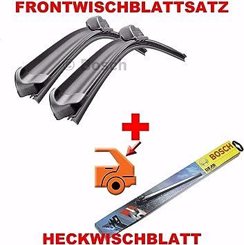 Bosch Am466s H301 Komplettsatz Vorne Hinten Scheibenwischer WischblÄtter Heckscheibenwischer Auto