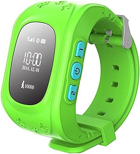 Amazon.com: P50 GPS Tracker apoyo tarjeta SIM Kids Anti-lost ...