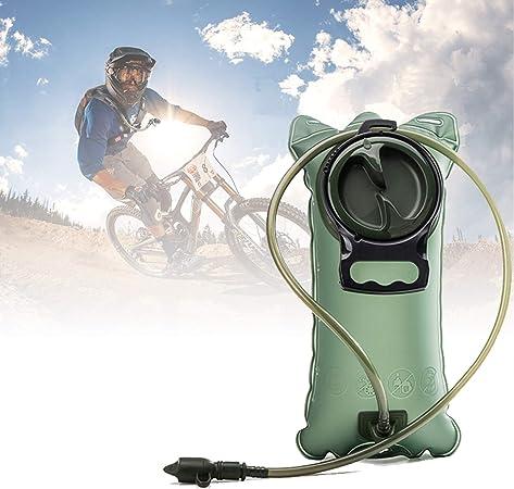 Sistema de Bolsa Agua Potable Para Bolsas Vejiga de Hidratación 2 Litros, Mochila a Prueba de Fugas Bolsa Agua Para Ciclismo Deportivo, Camping, ...