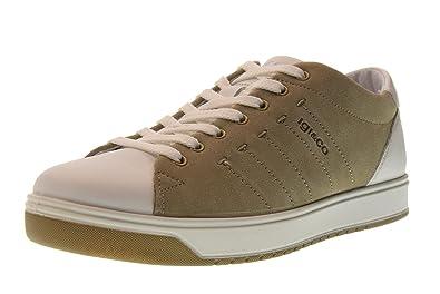 huge selection of 878ca 75b9f Amazon.com | IGI&CO Shoes Men Sneakers Low 1125033 Beige ...