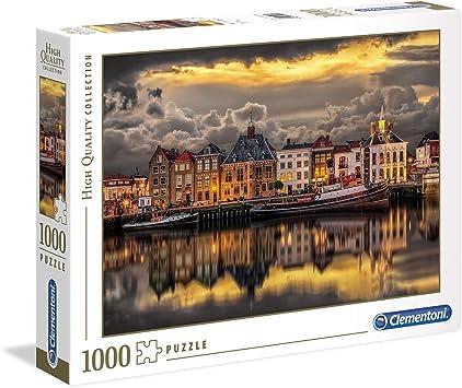 Clementoni-39421 Puzzle 1000 Piezas Dutch Dreamworld (39421.0): Amazon.es: Juguetes y juegos