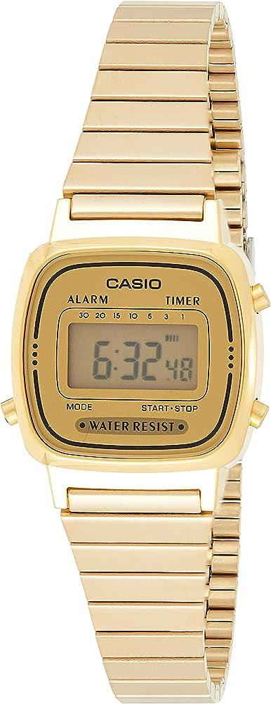 Casio LA670WEGA-9EF, Reloj de Pulsera para Mujer: Amazon.es: Relojes