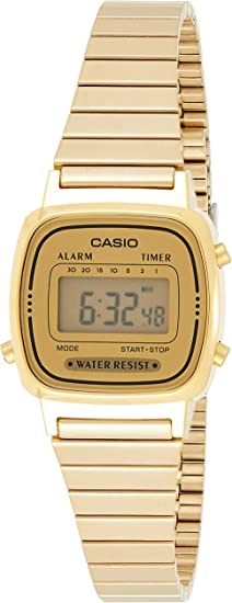 Casio Montres bracelet LA670WEGA 9EF: : Montres  5UKro