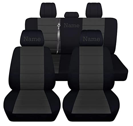 Tremendous Fits 2012 To 2018 Dodge Ram Front And Rear Ram Seat Covers 22 Color Options Solid Rear Bench Black Charcoal Forskolin Free Trial Chair Design Images Forskolin Free Trialorg