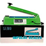 SENO, Hand Sealing Machine, Suitable To Seal All Kinds Of Pouches for Home /Shop, 12 inches in length, (SENO012, Green and Blue)