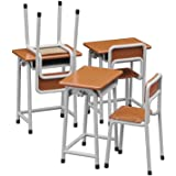 62001 1/12 School Desk & Chair