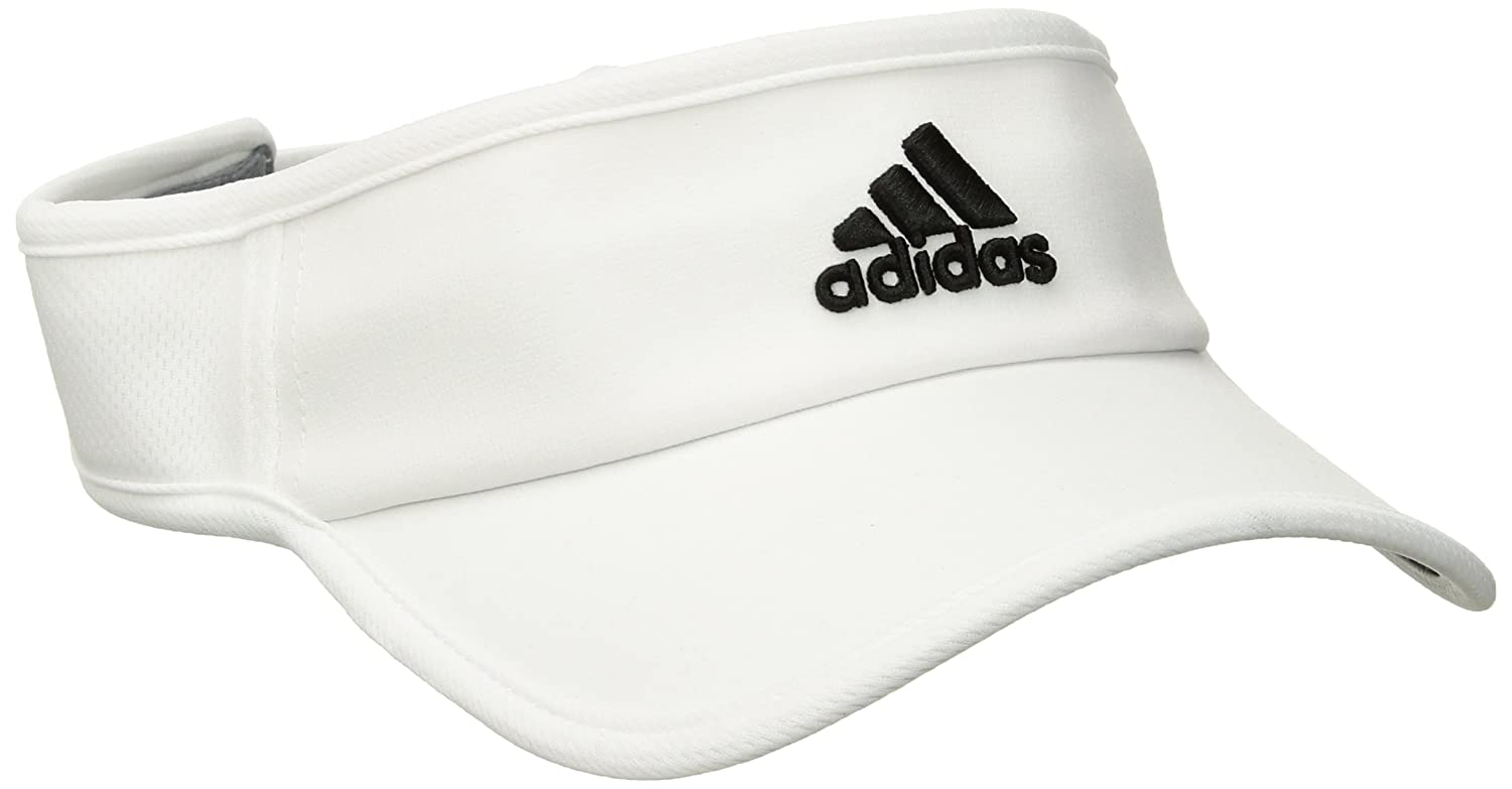 Adidas Men's Adizero II Visor, Black/White, One Size Agron Hats & Accessories 103450