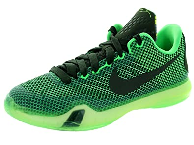 Men's/Women's Nike Kobe X Basketball Shoe Poison Green/Sequoia/Sq/Vlt 201420152016