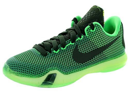 Nike Niños Kobe X (GS) Green Poison/Sequoia / Sq/Vlt Baloncesto