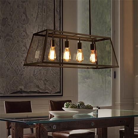 coffee shop lighting. CUICAN Glass Pendant Lights Vintage Rectangular Ceiling Lamp Creative  Living Room Restaurant Loft Coffee Shop Lighting Coffee Lighting F