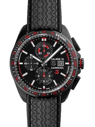 half off 95b9c 41423 Amazon | タグ・ホイヤー メンズ腕時計 カレラ セナモデル ...