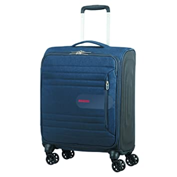 American Tourister Sonicsurfer - Spinner 55/20 Equipaje de Mano, 55 cm, 40 Liters, Azul (Midnight Navy): Amazon.es: Equipaje