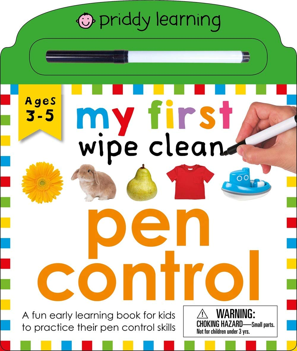 Image for My First Wipe Clean: Pen Control