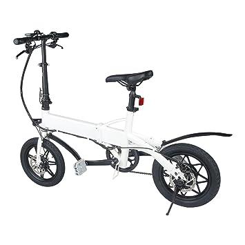 Bicicleta Eléctrica Plegable 14 Pulgada E-Bike 14Kg 240W Motor 36V 4.0Ah Batería de