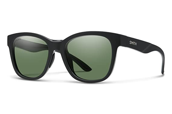 cf452b0803 Smith Caper Sunglasses Matte Black Gray Green ChromaPop Polarized   Carekit